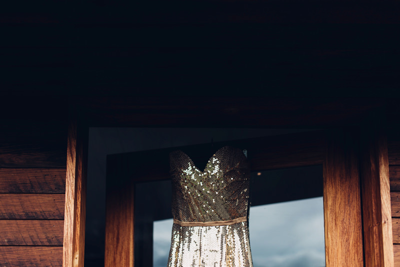 rockstars royalty gold sequin dress