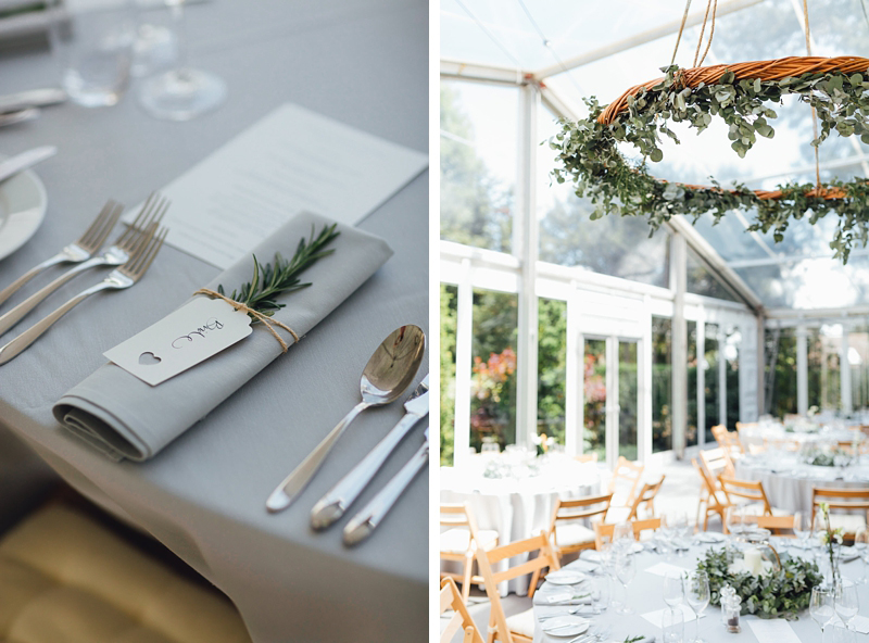 rosemary and eucalyptus wedding inspiration