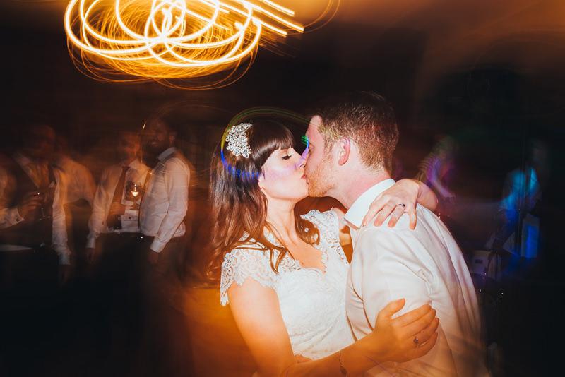 creative bride and groom dance floor photo by miss gen