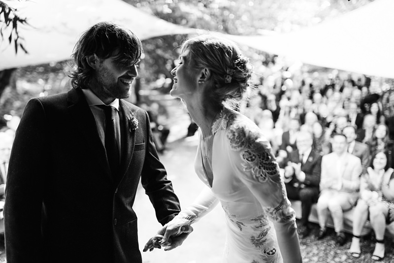 natural wedding photography in kent woodland