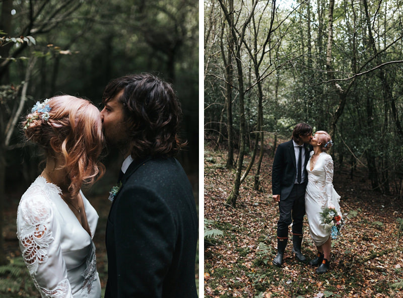 contemporary wedding photography, relaxed woodland wedding by london photographer miss gen