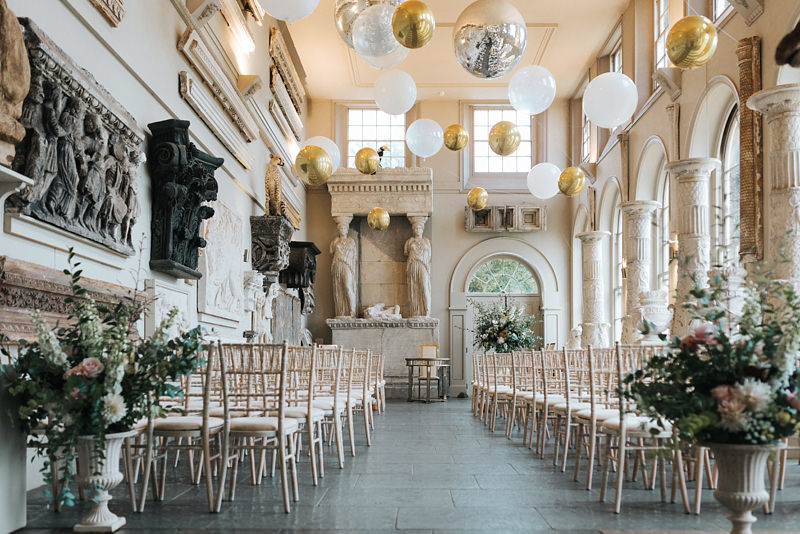 aynhoe park ceremony in the orangery by destination wedding photographer missgen