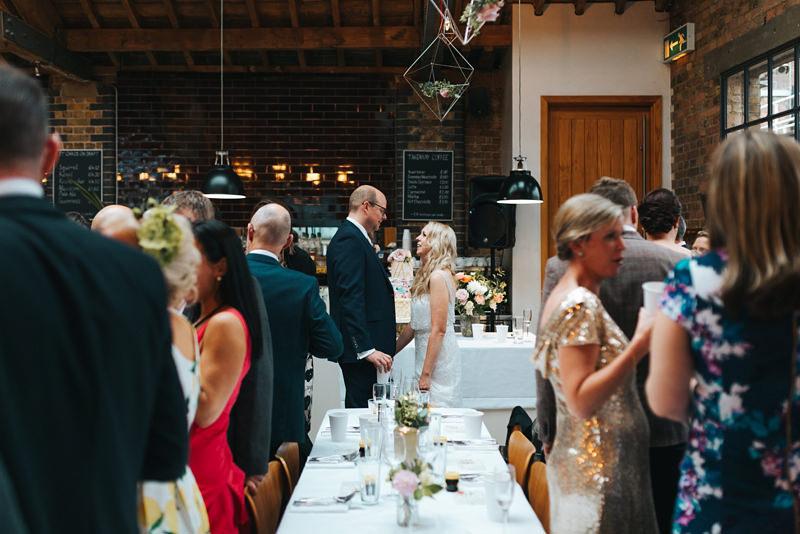 creative reportage london wedding photographer