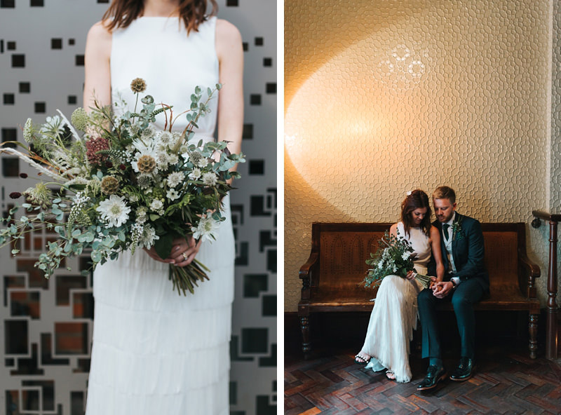 modern wedding photography at town hall hotel and hawksmoor guildhall in london by creative reportage wedding photographer miss gen