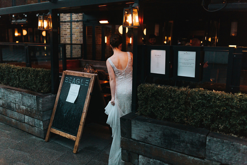 natural reportage wedding photography in Hoxton, east london