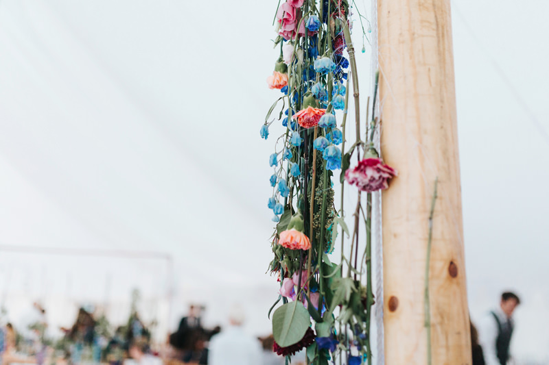 botanical wedding marquee
