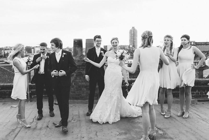 modern reportage london wedding photographer