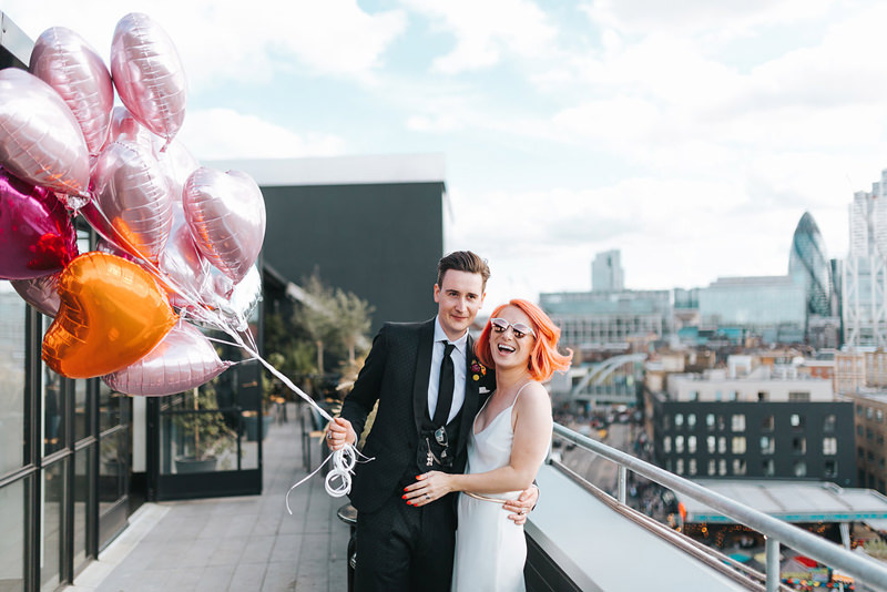 ace hotel rooftop wedding