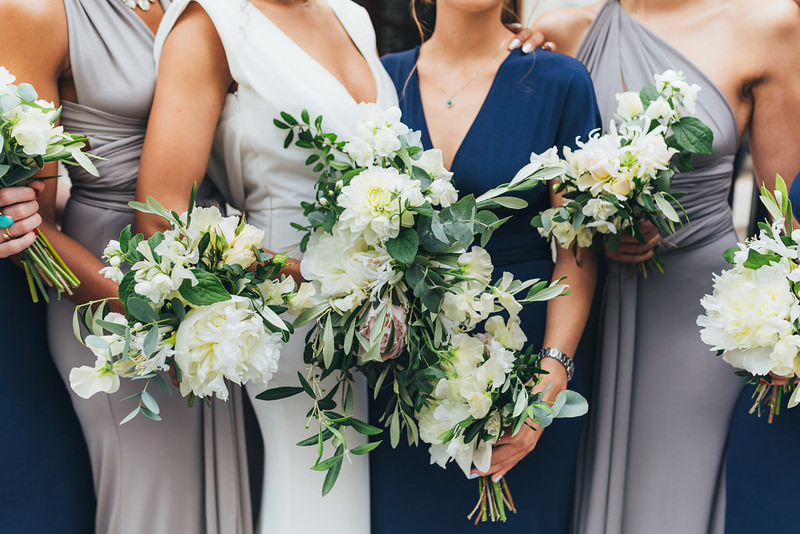 autumn bridesmaids london