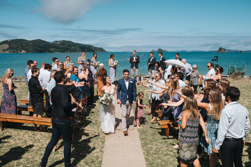 beach wedding photographer nz