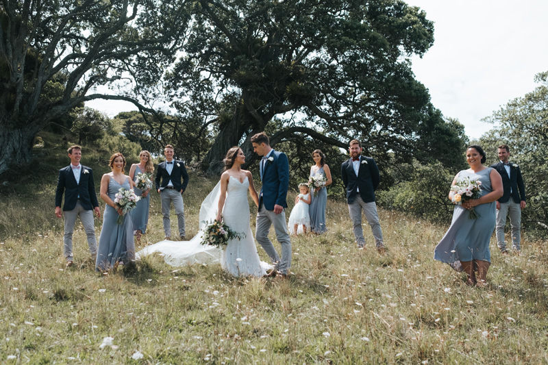 natural documentary style wedding photography in northland, New Zealand by Destination wedding photographer Miss Gen