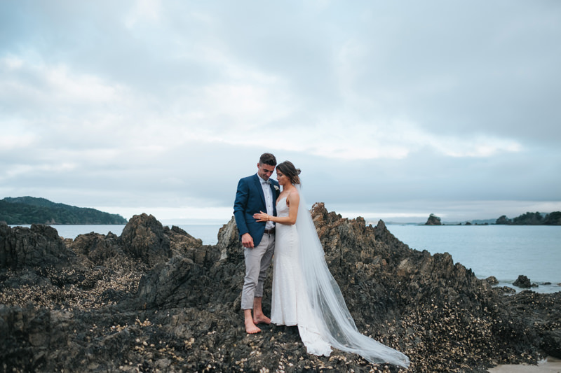 ohawini bay wedding photographer