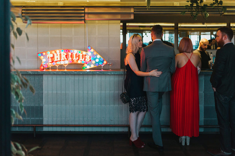 neon sign wedding
