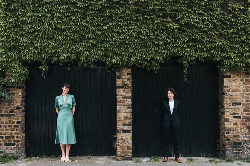 alternative modern wedding photography