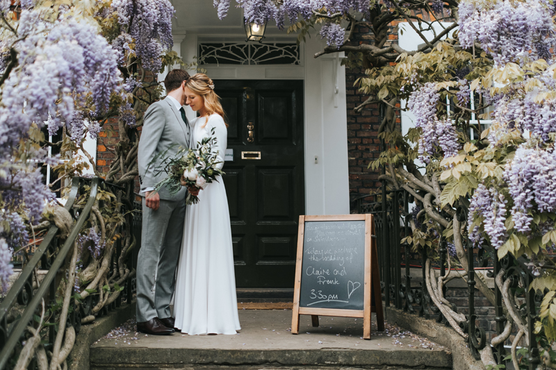 burgh house wedding spring