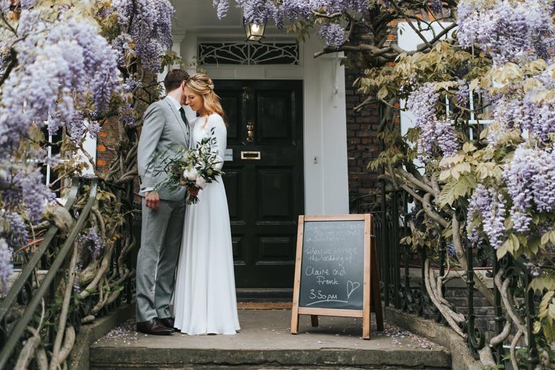 burgh house wedding spring