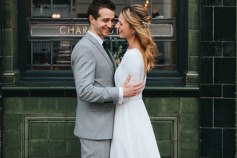 modern pub wedding camden