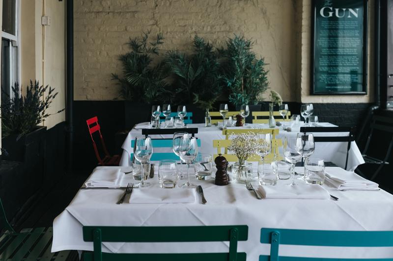 london pub wedding docklands