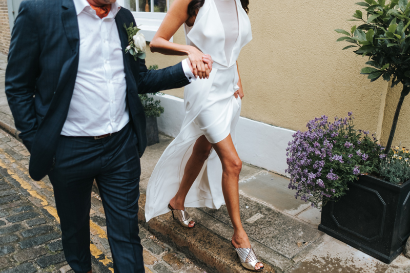modern east london wedding