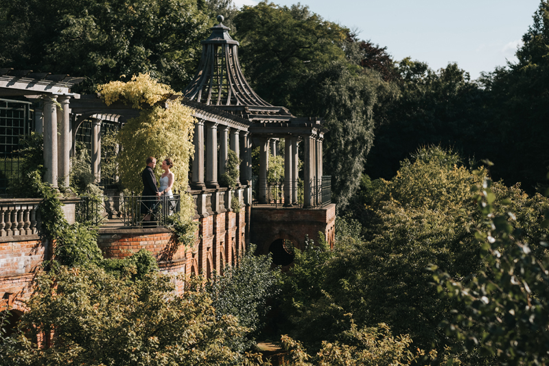 hampstead pergola wedding