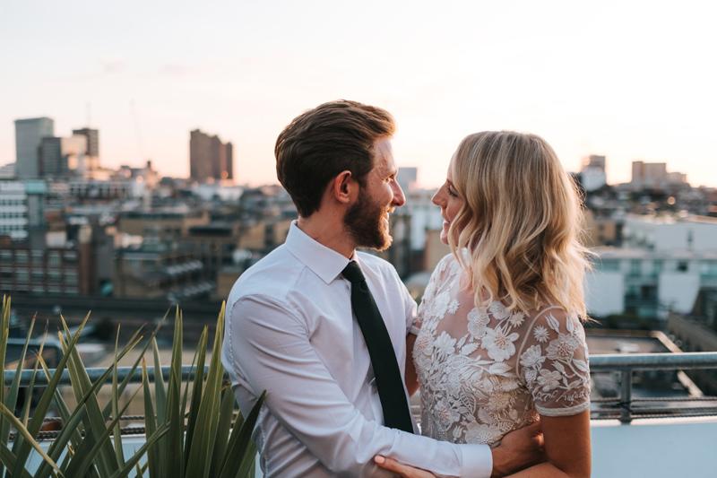 london rooftop wedding shoreditch