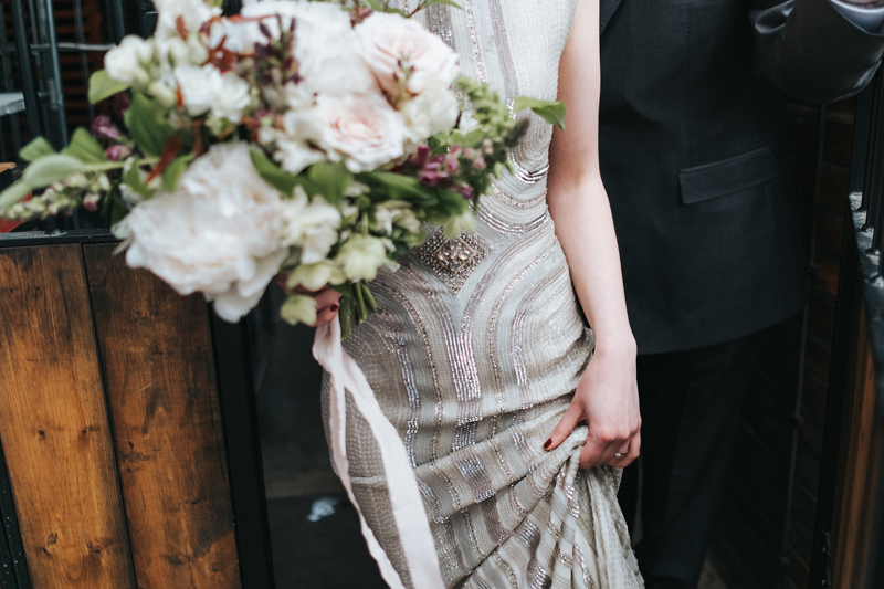 jenny packham sequin wedding dress
