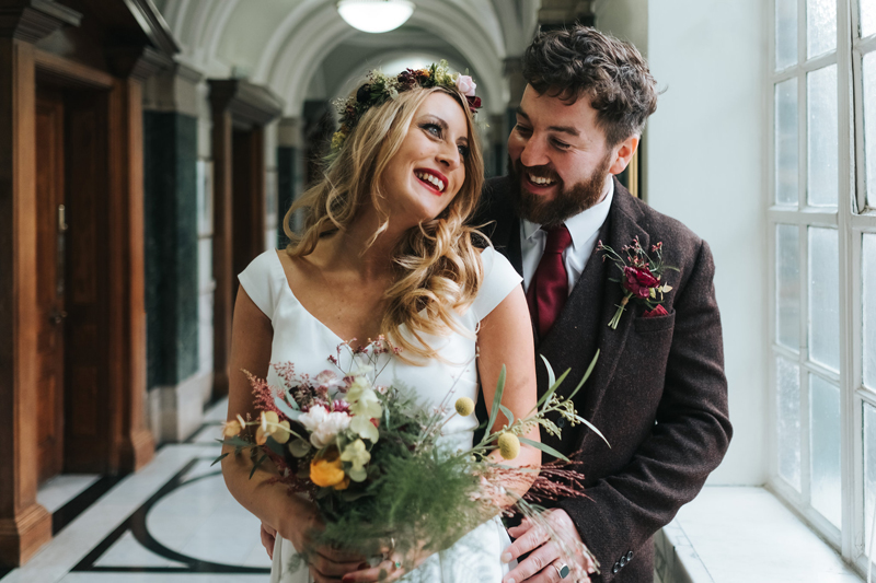intimate islington wedding