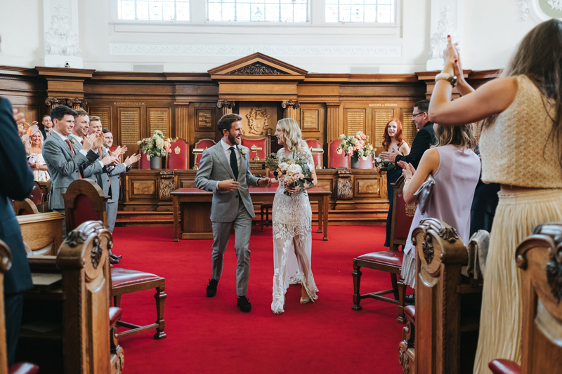 contemporary london wedding photograher