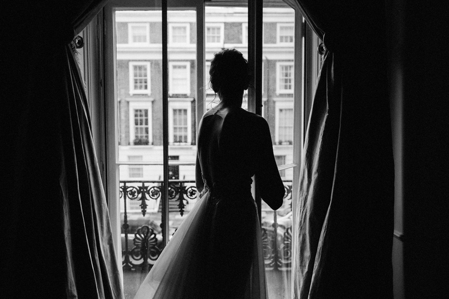 romantic london wedding