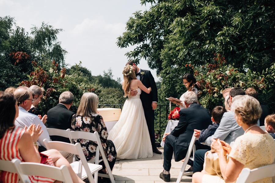 hampstead pergola wedding photographer