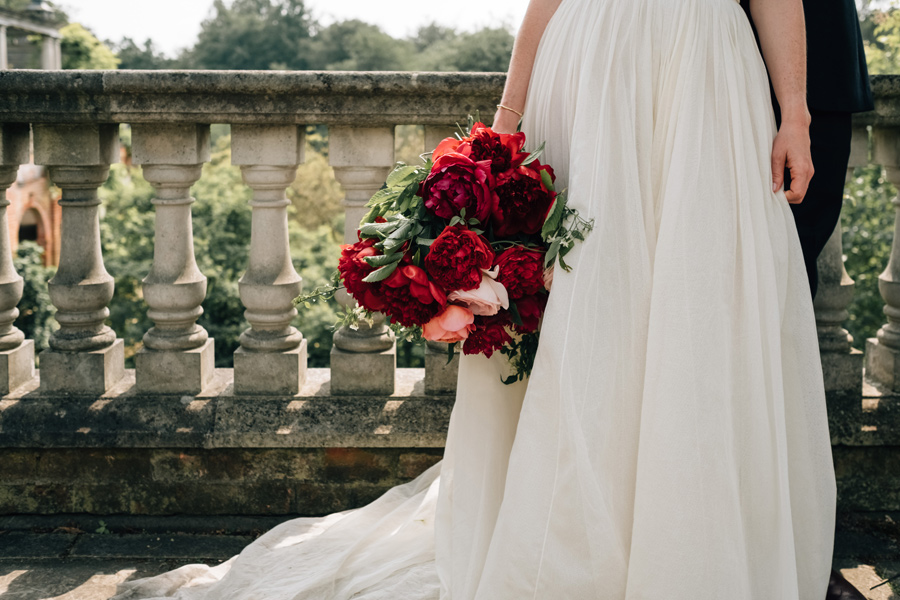intimate hampstead pergola wedding