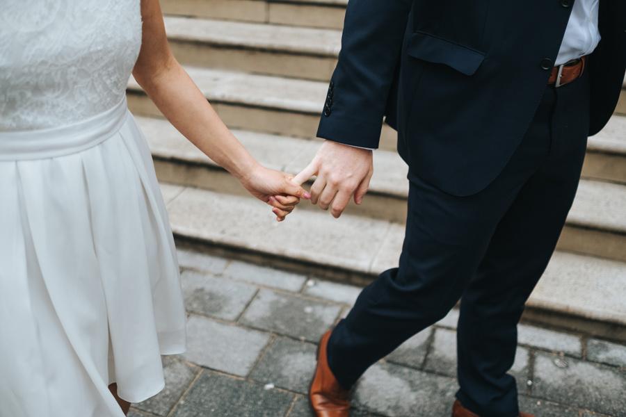 modern alternative wedding photography