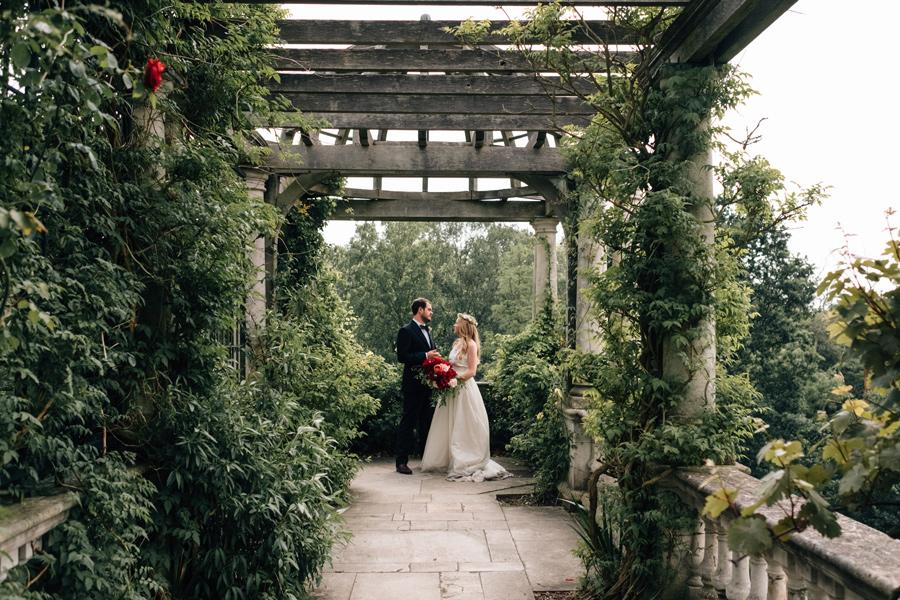 hampstead pergola wedding london