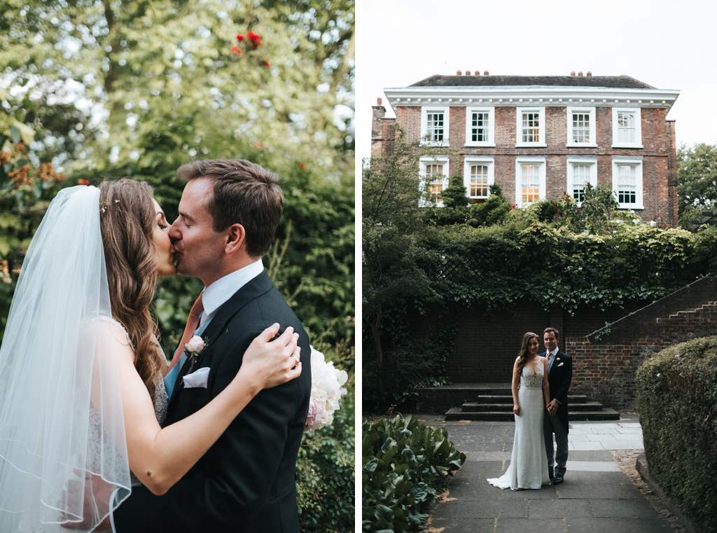 burgh house wedding hampstead