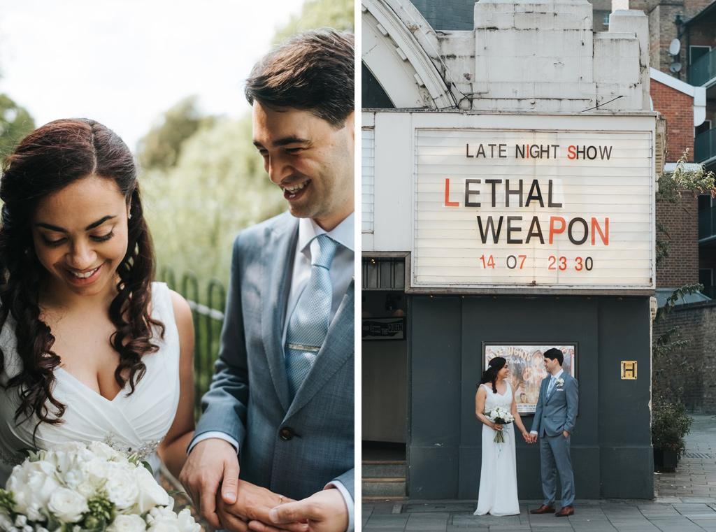 beautiful london wedding