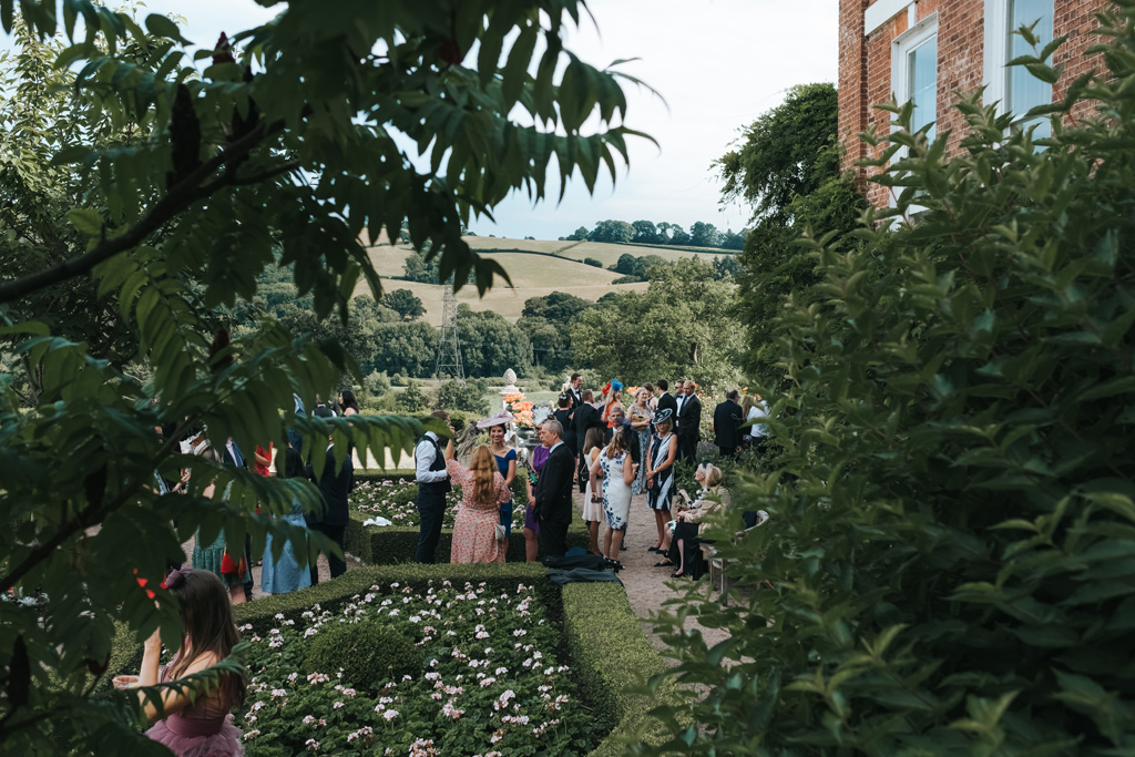 summer wedding pynes house