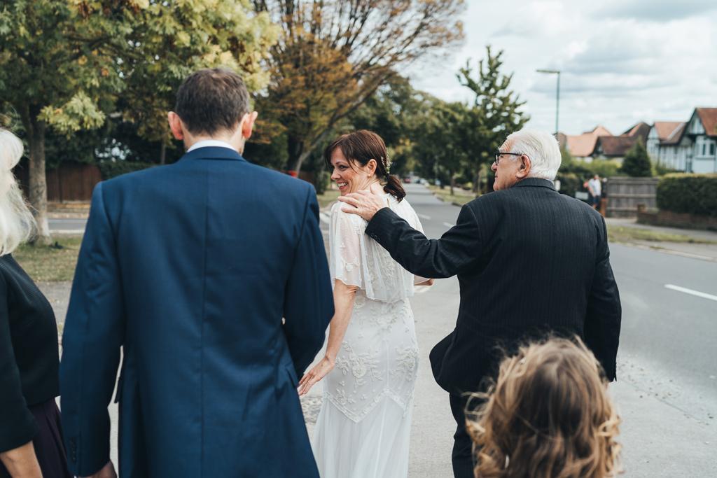 backyard wedding london