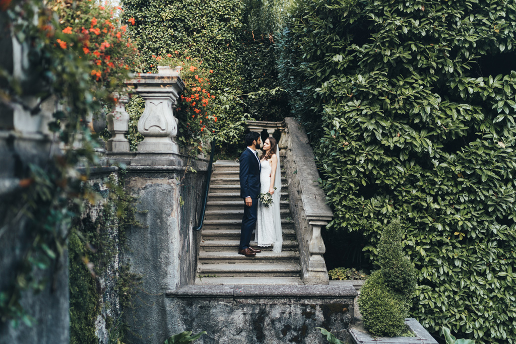 villa carlotta wedding photogapher