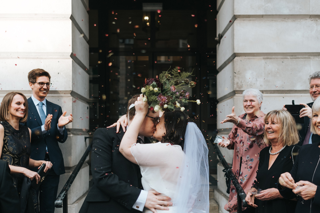 intimate london city wedding 2
