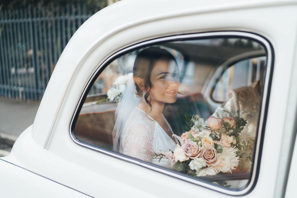 bride white taxi 2