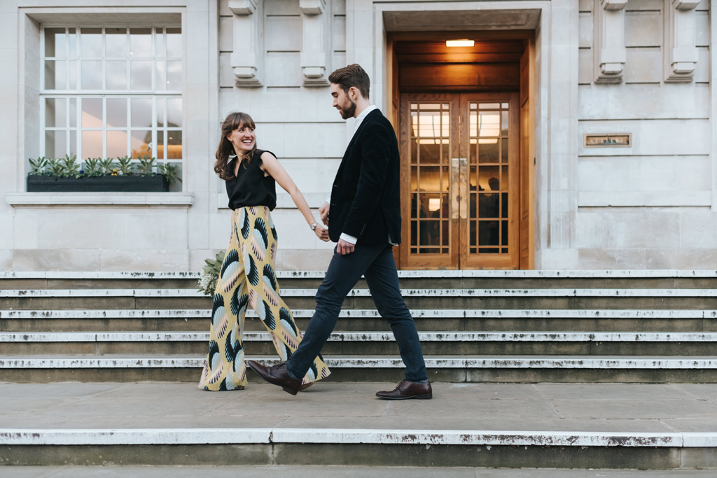 modern london elopement 2