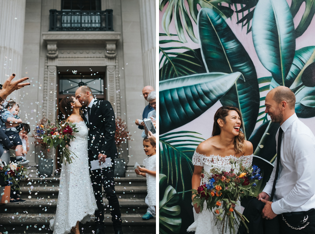 intimate london wedding shoreditch 1