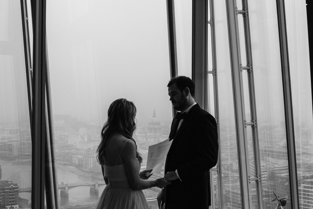 london sunrise elopement 1