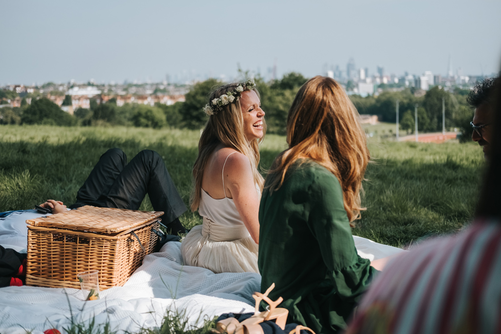 hampstead picnic wedding 1