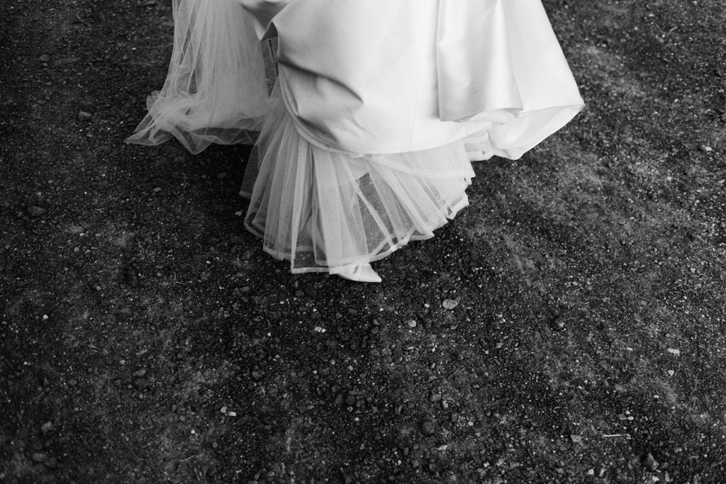 tulle wedding dress 1