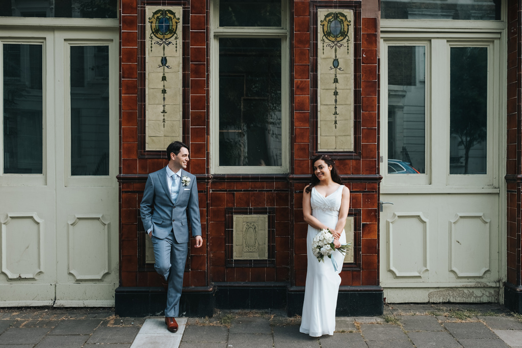 intimate islington wedding 1