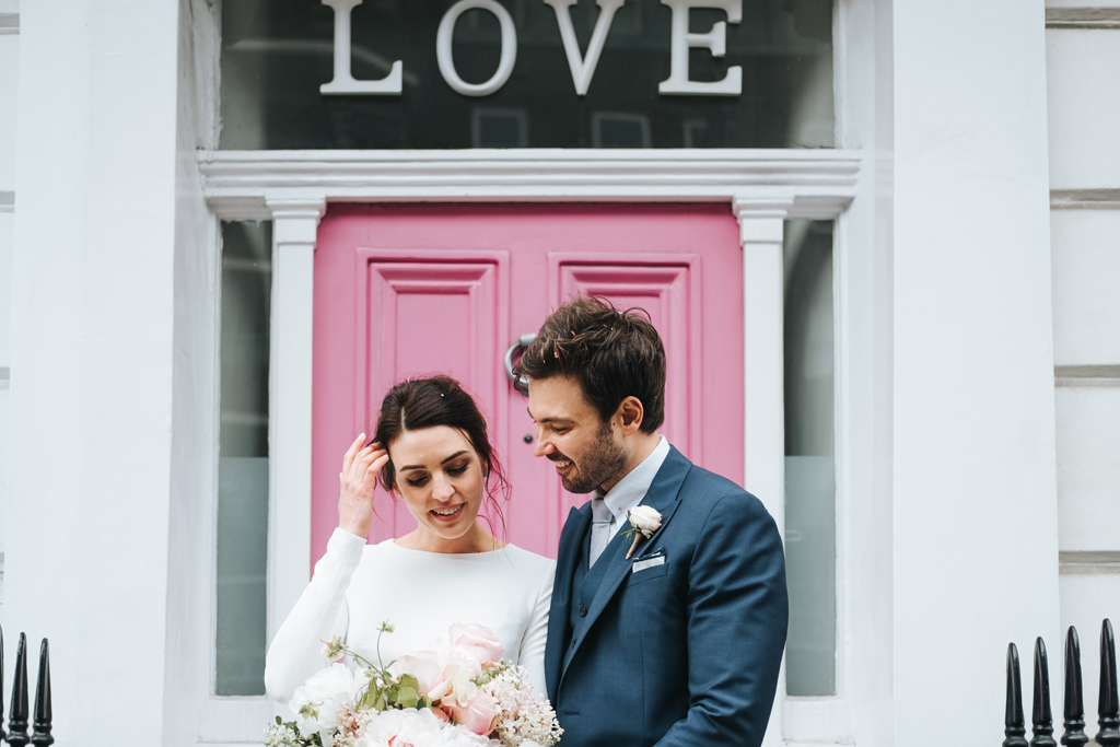 intimate london wedding kensington 1