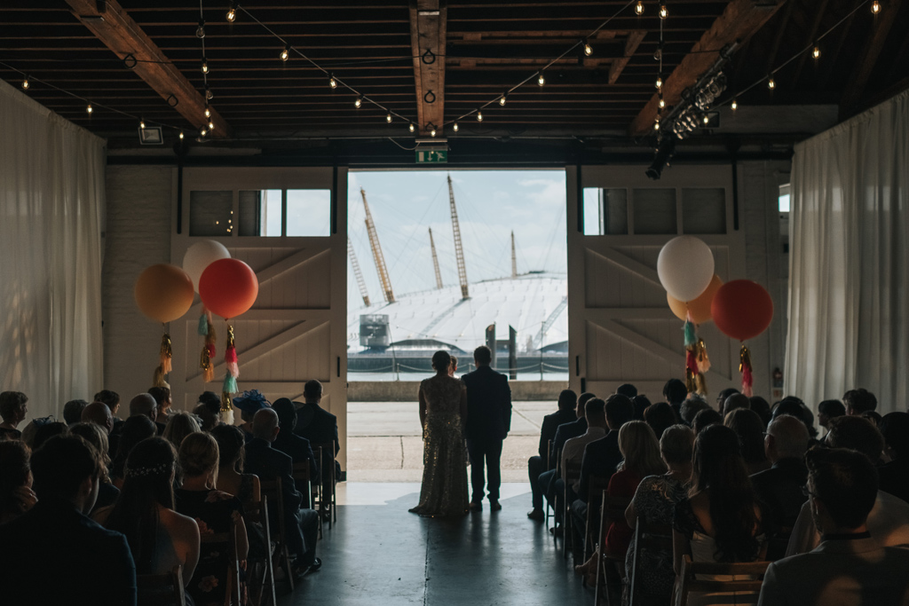 trinity buoy wharf wedding photographer 1