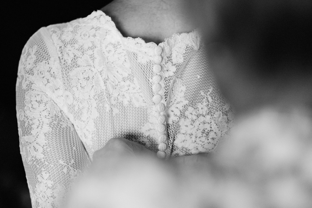 vintage lace wedding dress 1