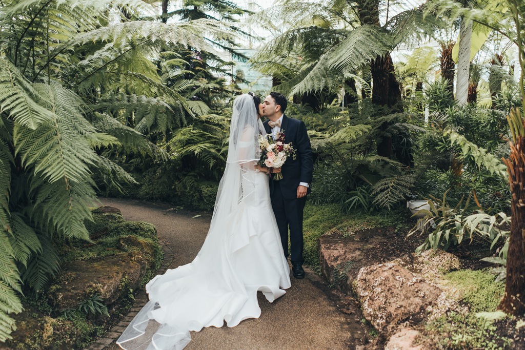 glasgow botanic garden wedding 1